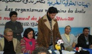 Het coordinerend comite van de Marokkaanse 20 Februari Beweging