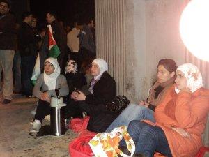 """Demonstratie van de """"24 Maart Jongeren"""""""