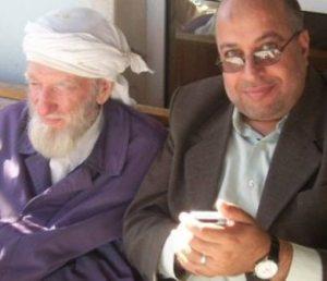 Dr Muhammad Ammar (r) met sheikh Jawdat Said