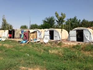 Benoite Yazidi camp Diyarbakir 2