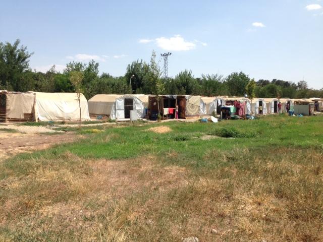 Benoite Yazidi camp Diyarbakir