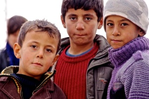 Syrie 2012 Impressie vluchtelingen en kinderen c Andreas Stahl R